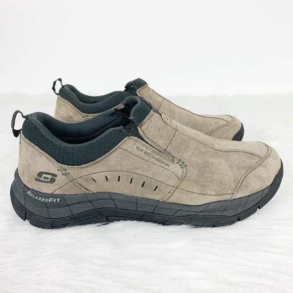 Skechers Men's Rig Mountain Top Slip On Shoes 13